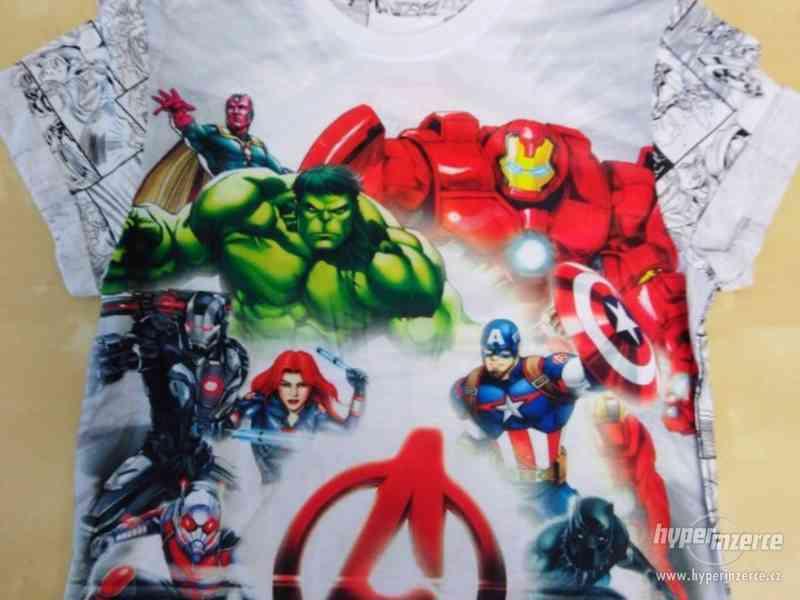 Oblečení s motivy Marvel, DC, Star wars, Nintendo - foto 8