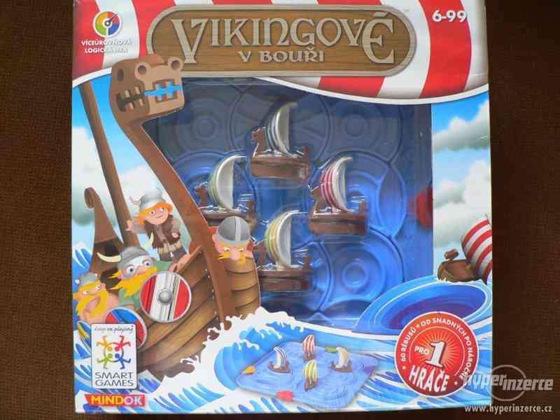 SMART hra pro 1 hráče - Vikingové v bouři - děti od 6 let