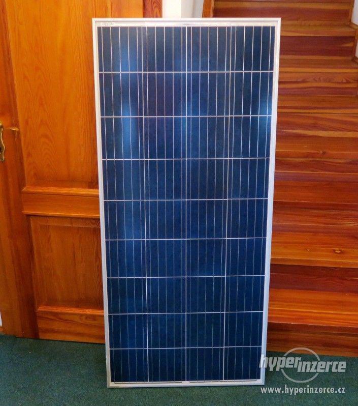 Solární panel fotovoltaický 175W - 12V polykrysal, přísluš. - foto 1