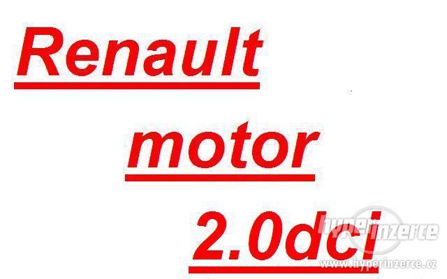 Renault trafic 2.0dci M9R motor 2.0dci prevodovka PF6 2.0 dc