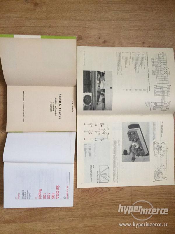 Škoda 105/120/Garde/Rapid - seznamy ND, příručky, prospekty - foto 4