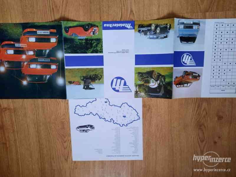 Škoda 105/120/Garde/Rapid - seznamy ND, příručky, prospekty - foto 11