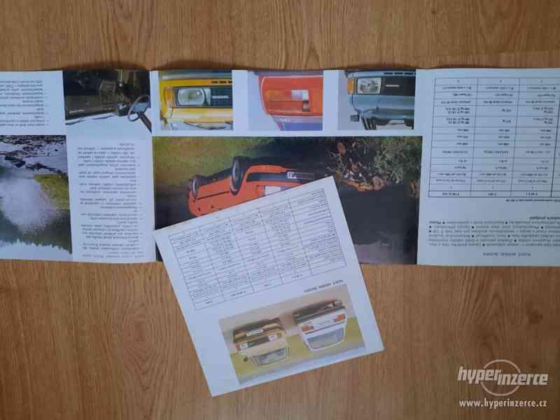 Škoda 105/120/Garde/Rapid - seznamy ND, příručky, prospekty - foto 12