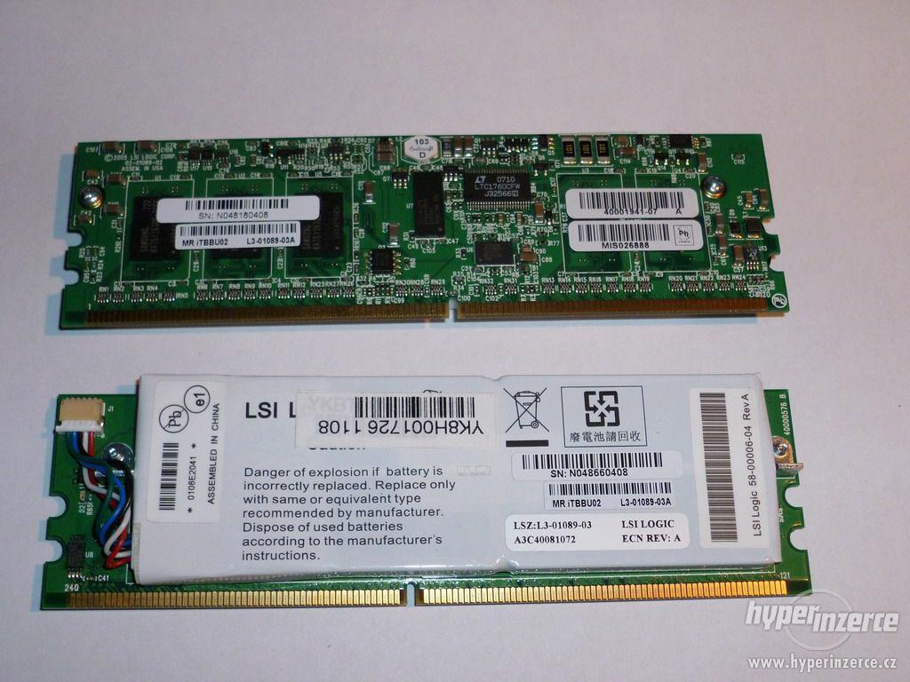 LSI Logic MegaRAID LSI iTBBU02 256MB DDR2 DIMM - foto 1