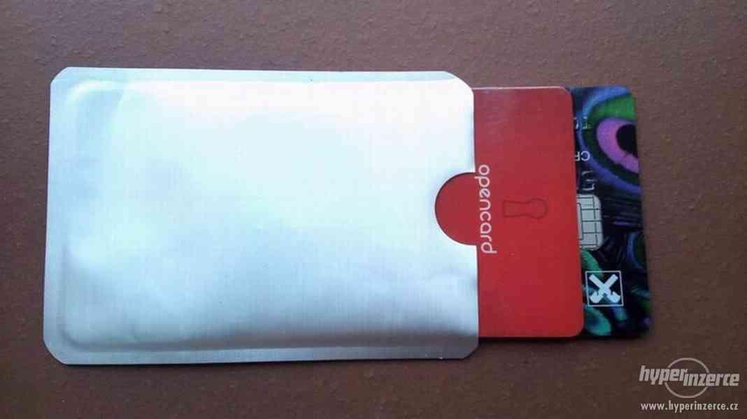 Obal na bezkontaktní platební a jiné karty - foto 2