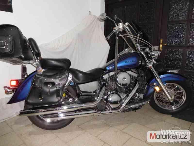 Kawasaki VN 1500 Black & Blue