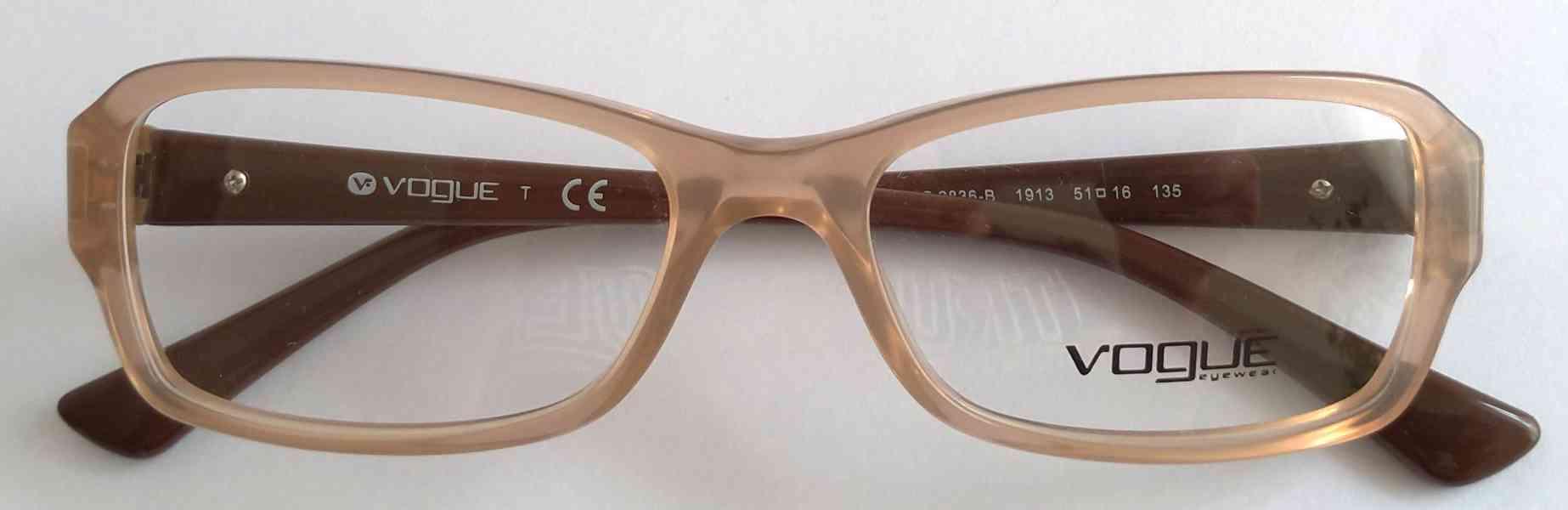 VOGUE VO 2836-B dámské brýlové obruby 51-16-135 MOC:3200 Kč - foto 10