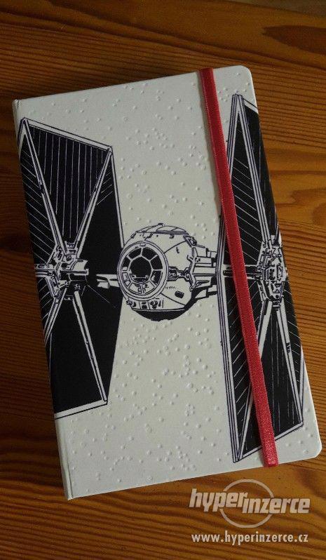 Notes Star wars Tie linkovaný 13x21 cm - foto 1