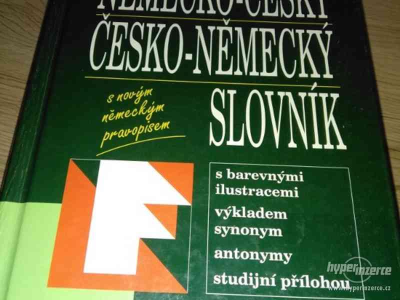 Prodám - Německo Český, Česko-Německý slovník