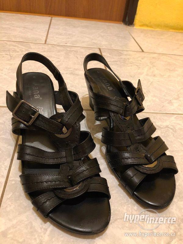 Dámské letní boty zn. JANA vel. 6 - foto 1