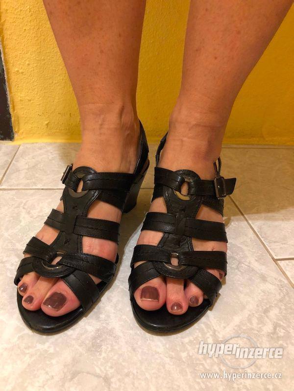 Dámské letní boty zn. JANA vel. 6 - foto 4