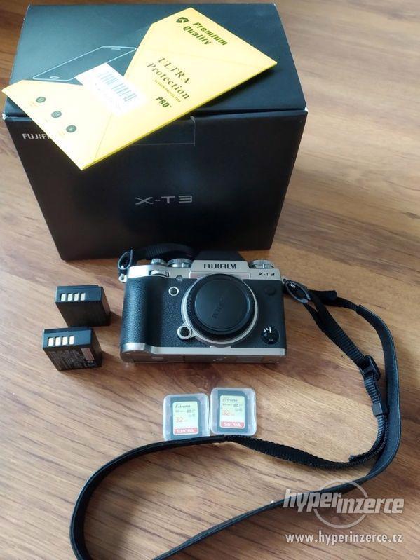 Fujifilm X-T3, kúpený 03/2019 (v záruke) + brašňa grátis. - foto 1