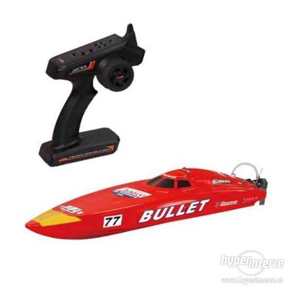Prodám nový: Bullet V2 rychlostní člun RTR 2.4GHz Brushless - foto 1