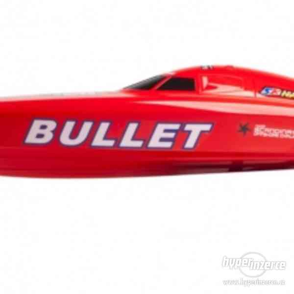 Prodám nový: Bullet V2 rychlostní člun RTR 2.4GHz Brushless - foto 2
