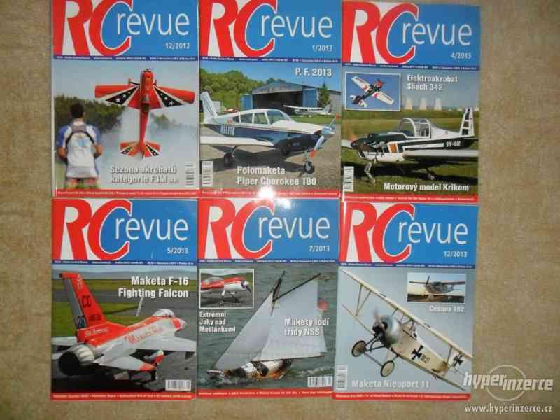 Prodám časopisy RC Revue, RC CARS