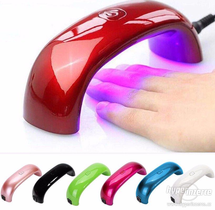 Mini UV LED lampa na vytvrzování UV gelu - 9 a 12W - foto 1