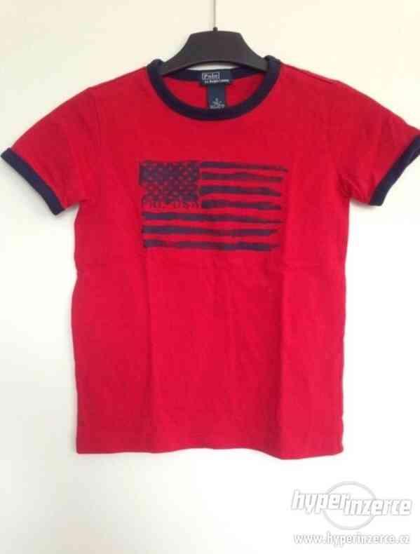 Chlapecké triko Pólo