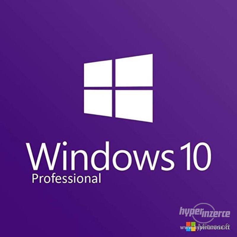 Windows 10 Professional CZ 32/64BIT - Doručení ihned - foto 1