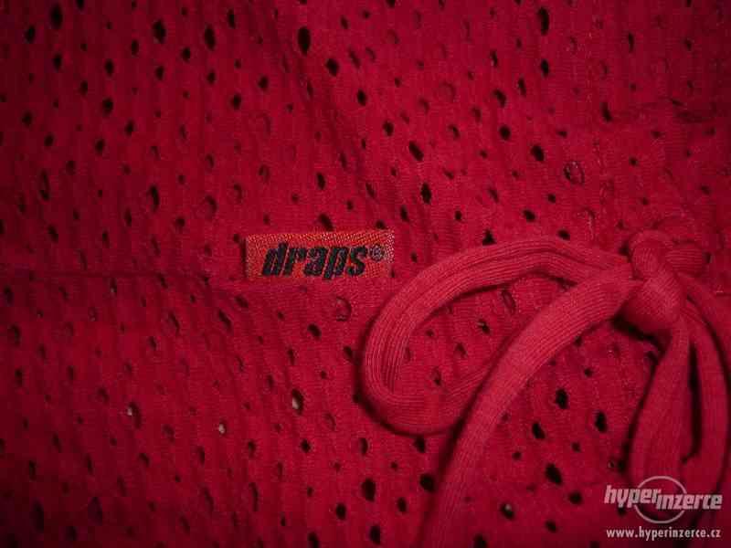 Červená děrovaná tunika Draps - foto 2