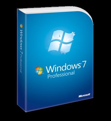 Originální Windows 7 Professional + upgrade na Windows 10
