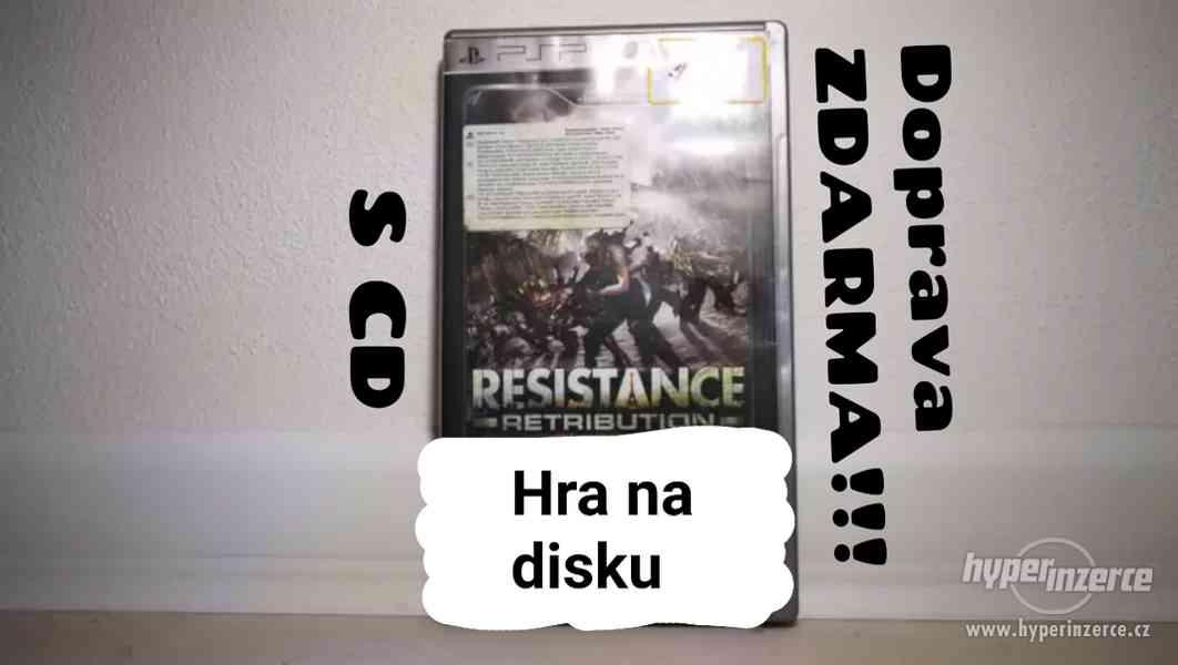 ● HRY ZA STOVKU!! ●RESISTANCE RETRIBUTION ● VIDEOHRA NA PSP