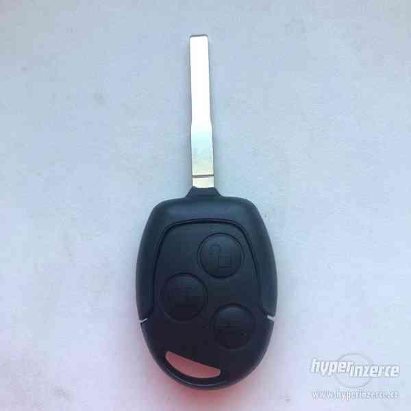 Klíč s dálkovým ovladačem F3 433MHZ pro Fordy - foto 1