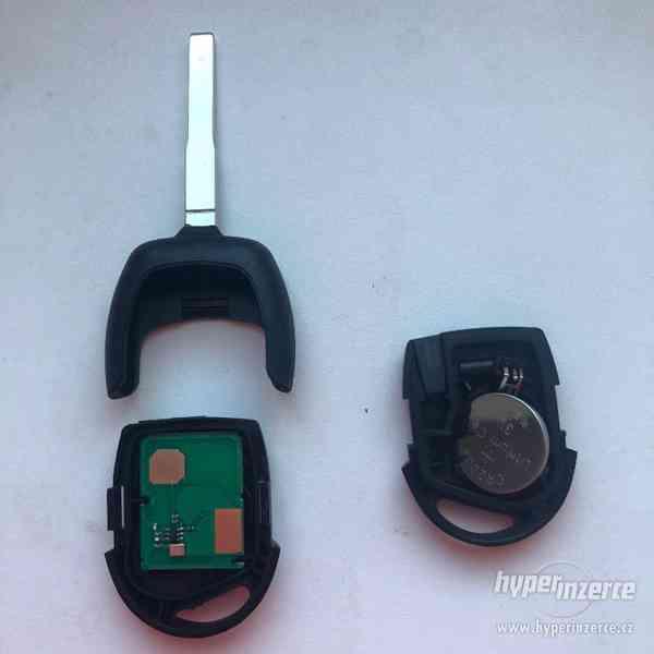 Klíč s dálkovým ovladačem F3 433MHZ pro Fordy - foto 2