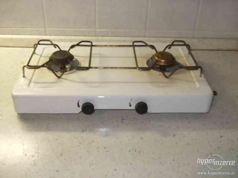 Vařič dvouhořákový na propan-butan - foto 2