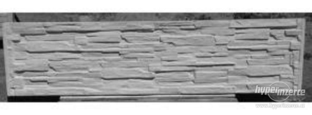 Betonové ploty přímo od výrobce