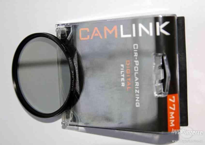 filtry na objektivy 77mm - ND4 a polarizační