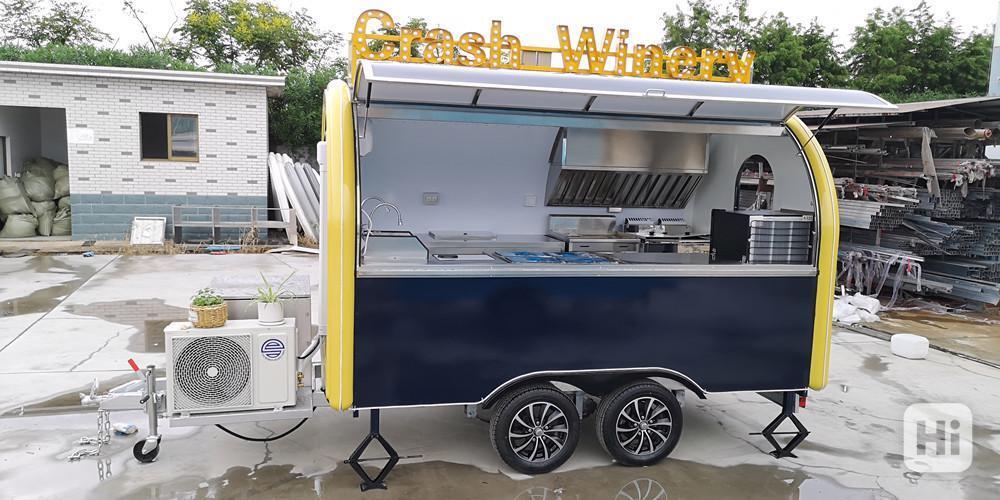 erzoda Food Trailer,Food Truck,Pojízdné občerstvení 340cm