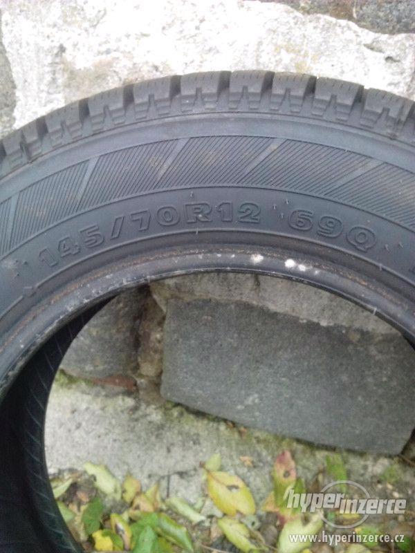 HANKOOK velmi kvalitní zimní pneu - foto 2