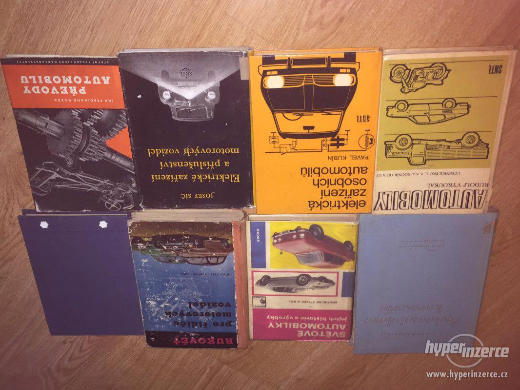 Veteránské knihy, 50. a 70. léta, ceny v textu - foto 1