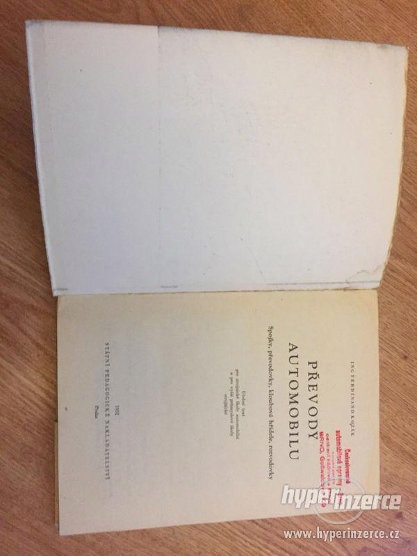Veteránské knihy, 50. a 70. léta, ceny v textu - foto 5