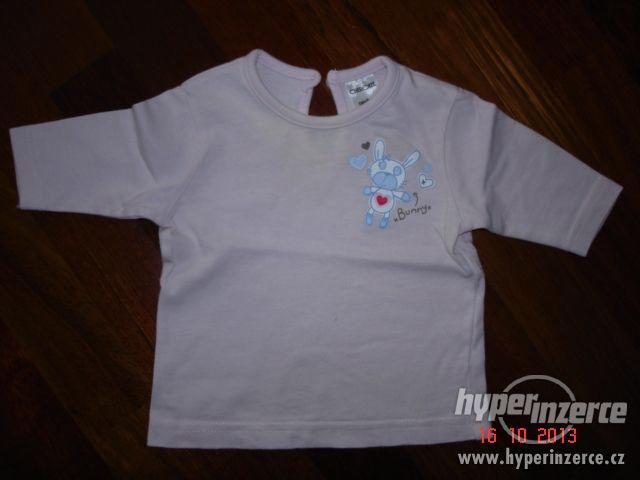 Dětské tričko s dlouhým rukávem 56cm