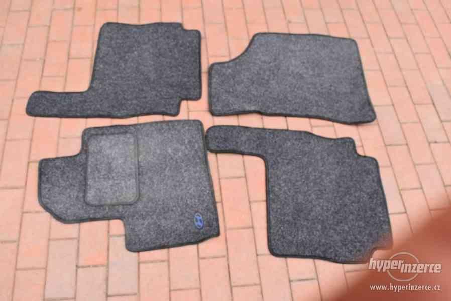 Textilní koberce do Hyundai Santa Fe