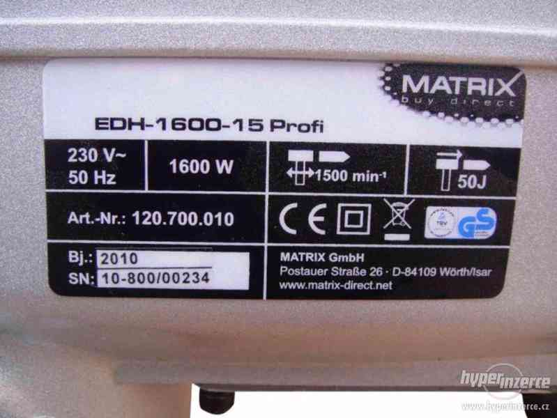 Bourací kladivo Matrix 1600W 50J - foto 5