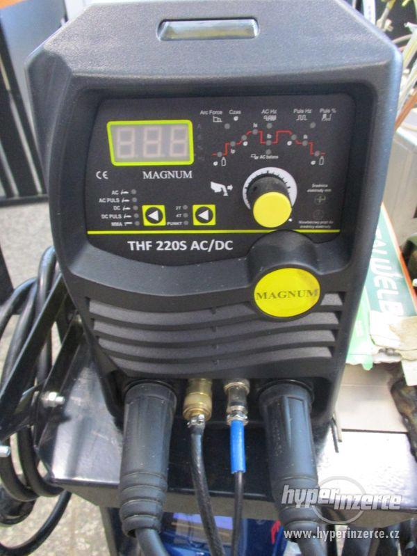 Nová Invertorová svářečka THF 220S AC/DC - foto 1