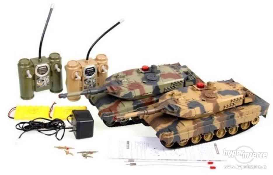 AKCE -Velké soubojové tanky Leopard 2A6 - 2ks v balení - foto 1