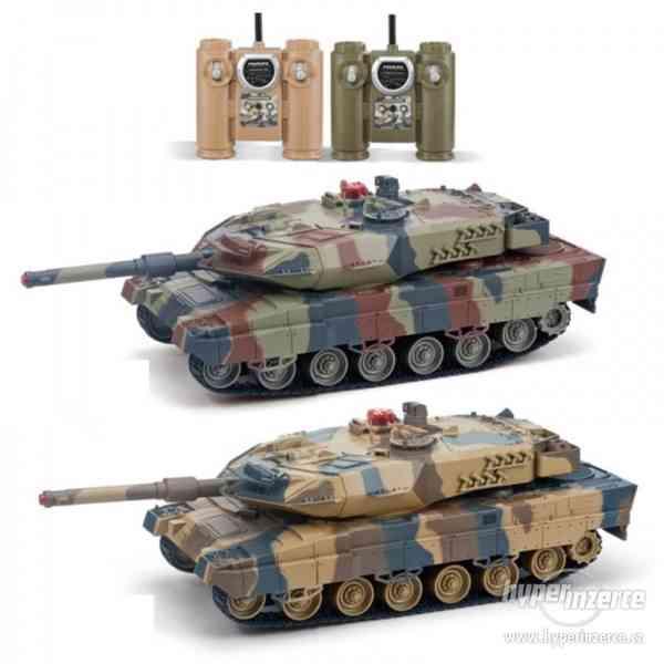 AKCE -Velké soubojové tanky Leopard 2A6 - 2ks v balení - foto 2