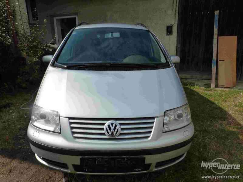 VW Sharan 1.9 TDI 85kw 7 míst plná výbava tažné automat - foto 1