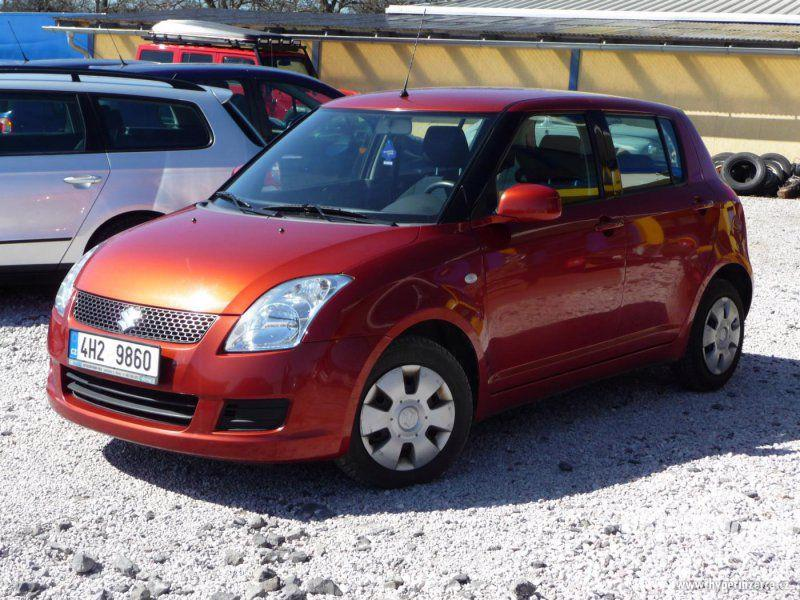 Suzuki Swift 1.3, benzín, rok 2010