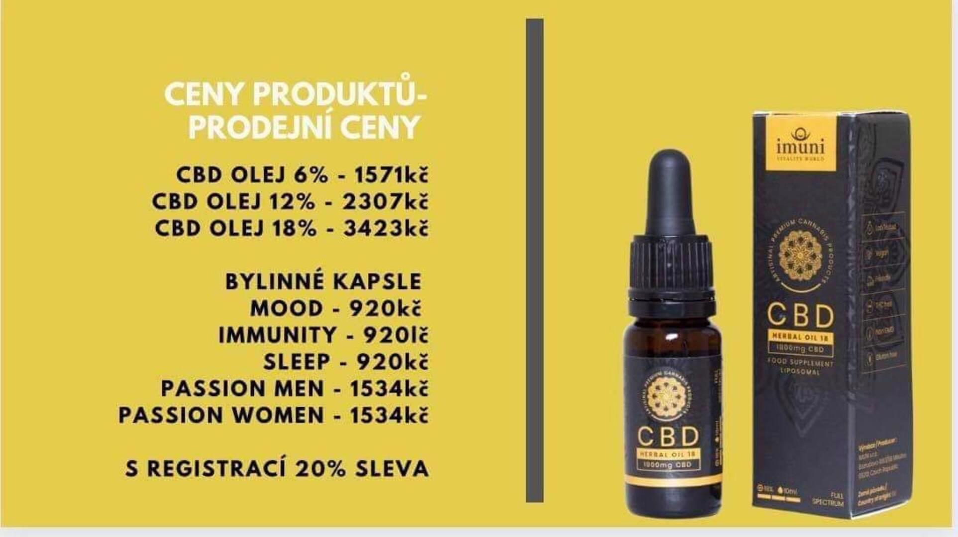 CBD oleje a bylinné kapsle  - foto 1