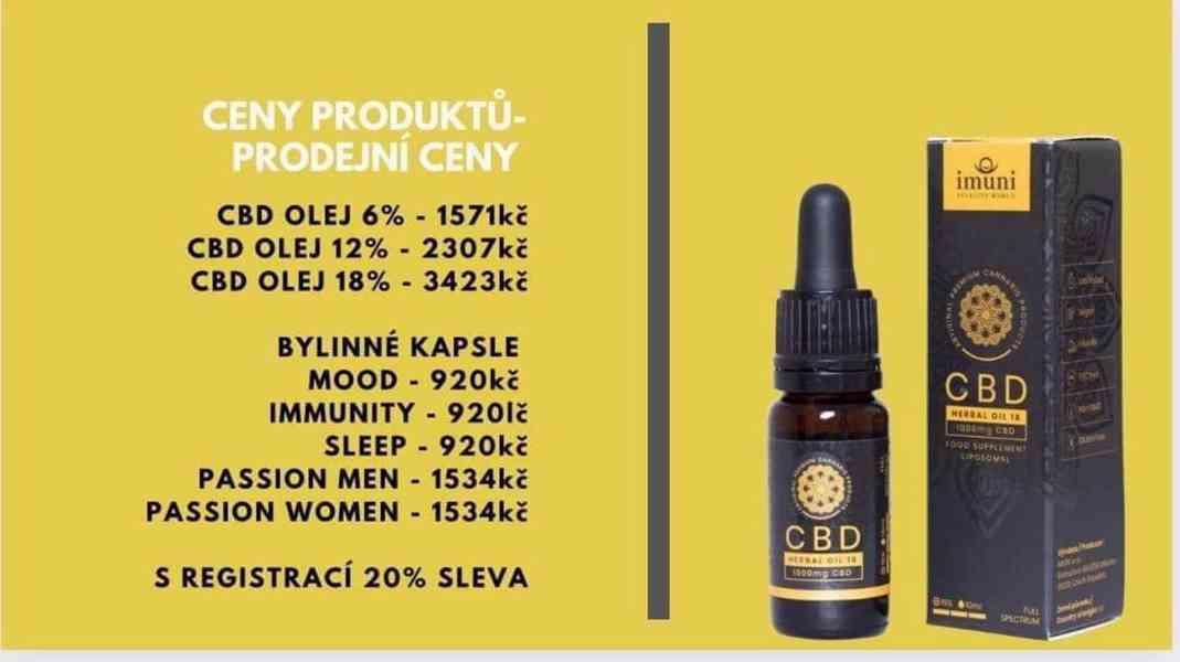 CBD oleje a bylinné kapsle