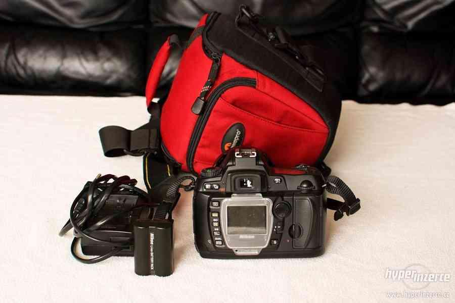 Nikon D70 + 18-70 ED + brašna