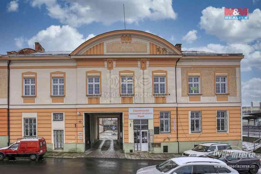 Pronájem, kancelářské prostory, 51 m2, Plzeň - centrum