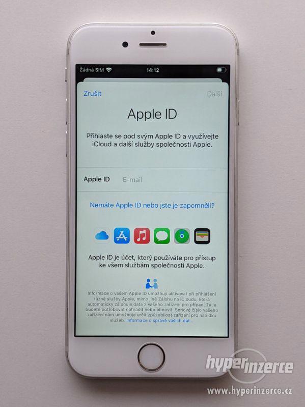 iPhone 6s 32GB stříbrný, baterie 100% záruka 6 měsícu - foto 2