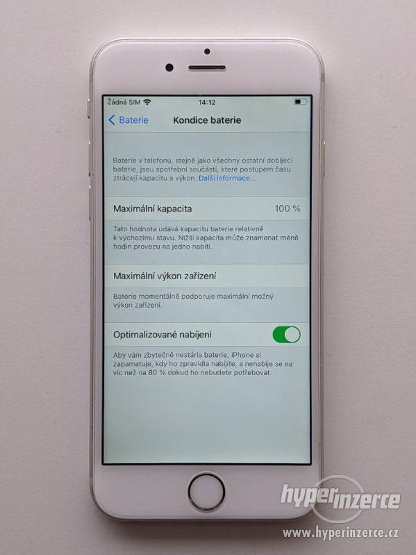 iPhone 6s 32GB stříbrný, baterie 100% záruka 6 měsícu - foto 4