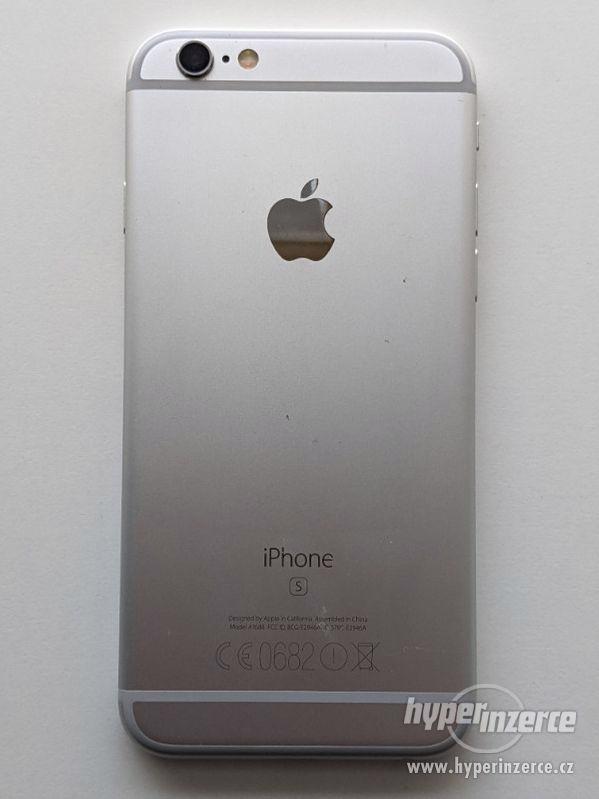 iPhone 6s 32GB stříbrný, baterie 100% záruka 6 měsícu - foto 7