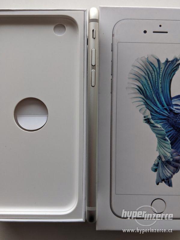 iPhone 6s 32GB stříbrný, baterie 100% záruka 6 měsícu - foto 8